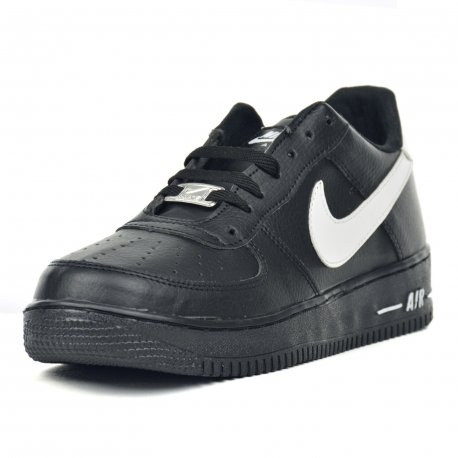 Tenis Casual Air Dama Negro Blanco
